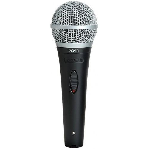 Микрофоны Shure PG 58