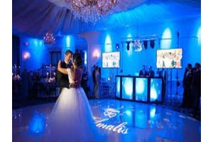 Свадьба в свете софитов - световое оборудование для незабываемого вечера
