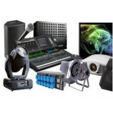 Аренда профессионального звукового оборудования