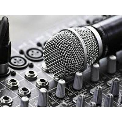 Аренда звукового оборудования и диджея