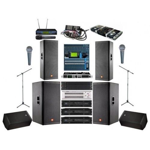 Аренда звукового и светового оборудования